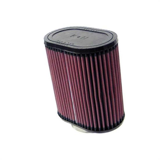 K&N RU-1550 Performance Air Filters, 7in Tall, Oval