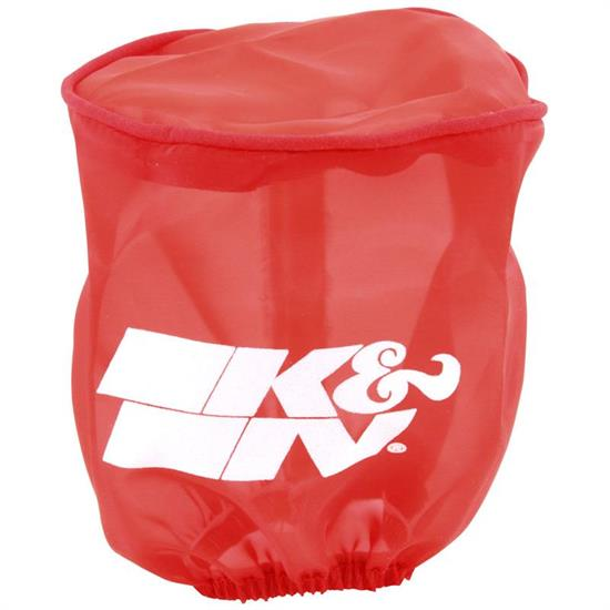K&N RU-1750DR  Air Filter Wrap, 4in Tall, Red
