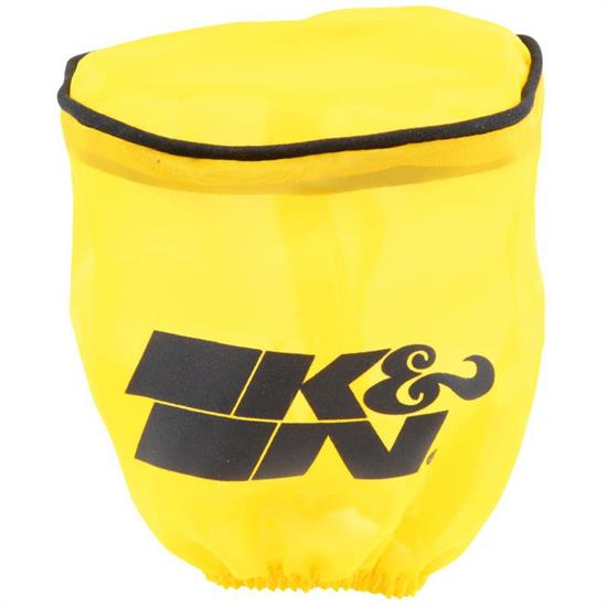 K&N RU-1750DY  Air Filter Wrap, 4in Tall, Yellow