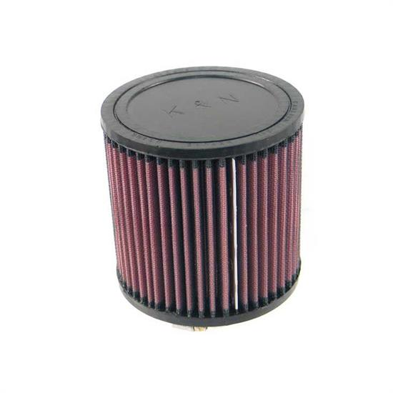 K&N RU-2430 Performance Air Filters, 5in Tall, Round