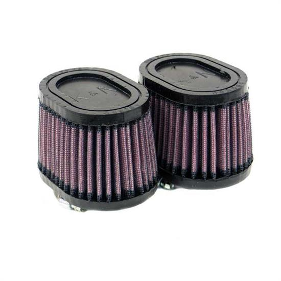 K&N RU-2452 Performance Air Filters, 2.75in Tall, Oval Straight