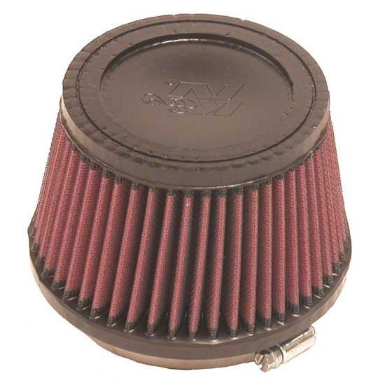 K&N RU-2510 Performance Air Filters, 3.5in Tall, Round Tapered