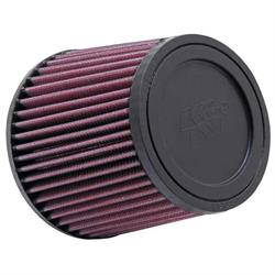 K&N RU-2520 Performance Air Filters, 5in Tall, Round Tapered