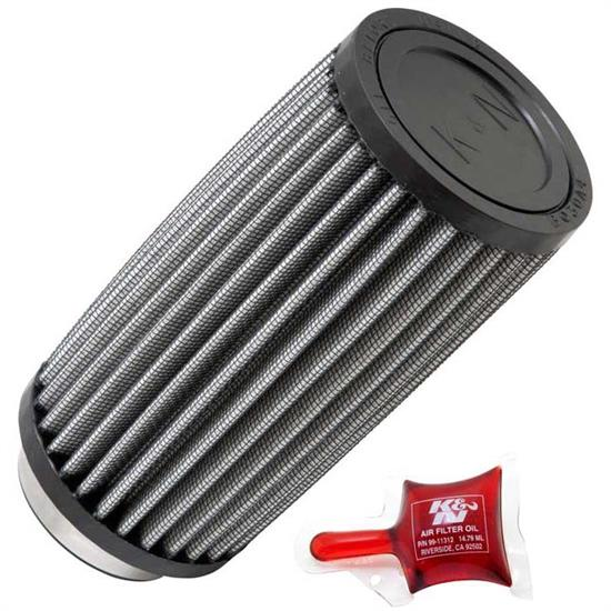 K&N RU-2575 Performance Air Filters, 6in Tall, Round Straight
