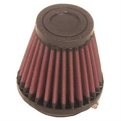 K&N RU-2580 Performance Air Filters, 3in Tall, Round Tapered