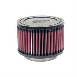 K&N RU-2640 Performance Air Filters, 3in Tall, Round
