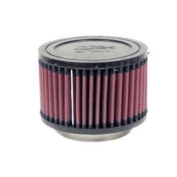 K&N RU-2640 Performance Air Filters, 3in Tall, Round