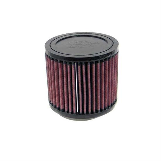 K&N RU-2650 Performance Air Filters, 4in Tall, Round