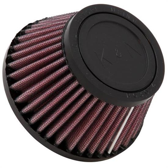 K&N RU-2680 Performance Air Filters, 2.5in Tall, Round Tapered
