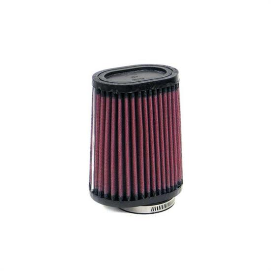 K&N RU-2750 Performance Air Filters, 5in Tall, Oval Straight