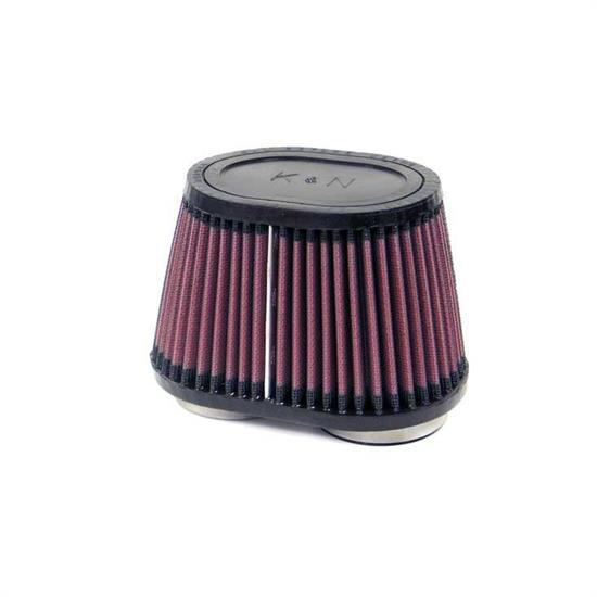 K&N RU-2850 Performance Air Filters, 4in Tall, Oval Straight