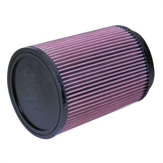 K&N RU-3020 Performance Air Filters, 9in Tall, Round
