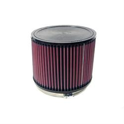 K&N RU-3060 Performance Air Filters, 6in Tall, Round