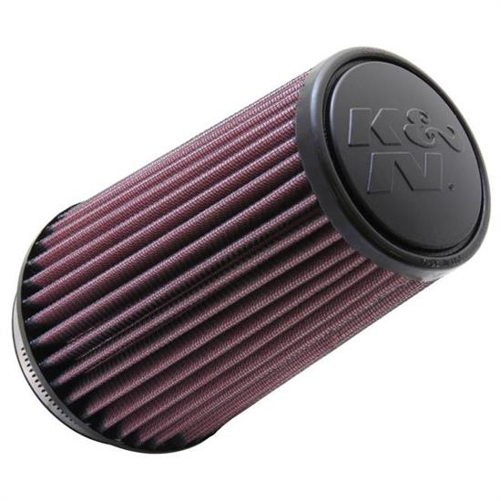 K&N RU-3130 Performance Air Filters, 7in Tall, Round Tapered