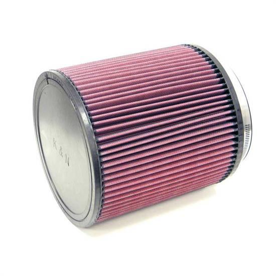K&N RU-3260 Performance Air Filters, 8in Tall, Round