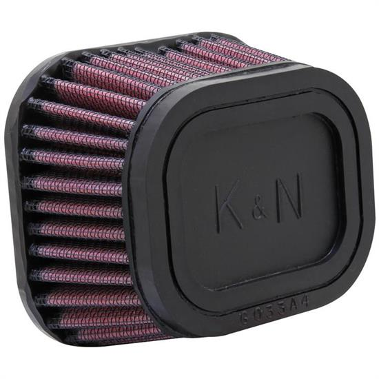K&N RU-3460 Performance Air Filters, 2.25in Tall, Round Tapered