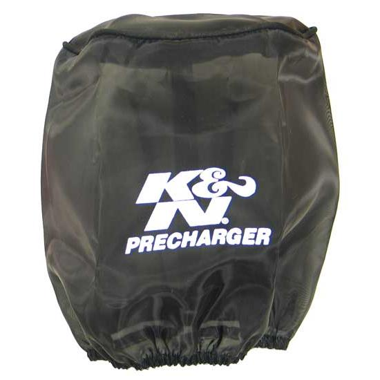K&N RU-3480PK PreCharger Air Filter Wrap, 6in Tall, Black