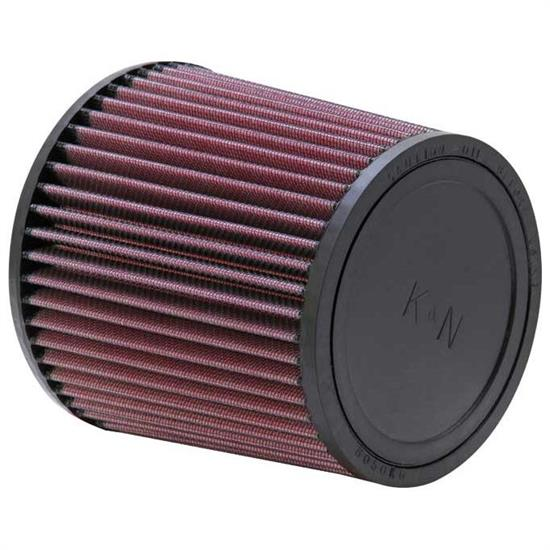 K&N RU-3480 Performance Air Filters, 6in Tall, Round Tapered
