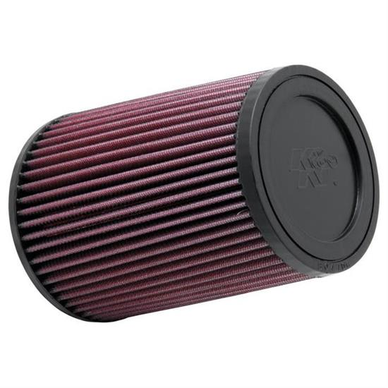 K&N RU-3530 Performance Air Filters, 7in Tall, Round Tapered