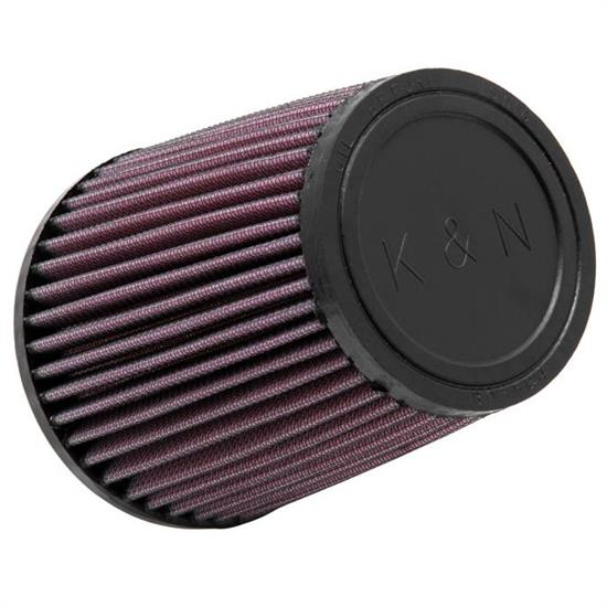 K&N RU-3550 Performance Air Filters, 5.5in Tall, Round Tapered