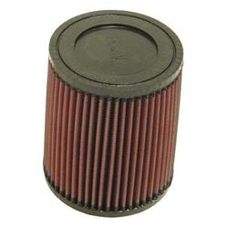 K&N RU-3560 Performance Air Filters, 6in Tall, Round Tapered