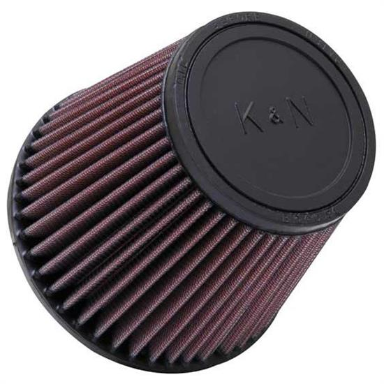 K&N RU-3580 Performance Air Filters, 5in Tall, Round Tapered