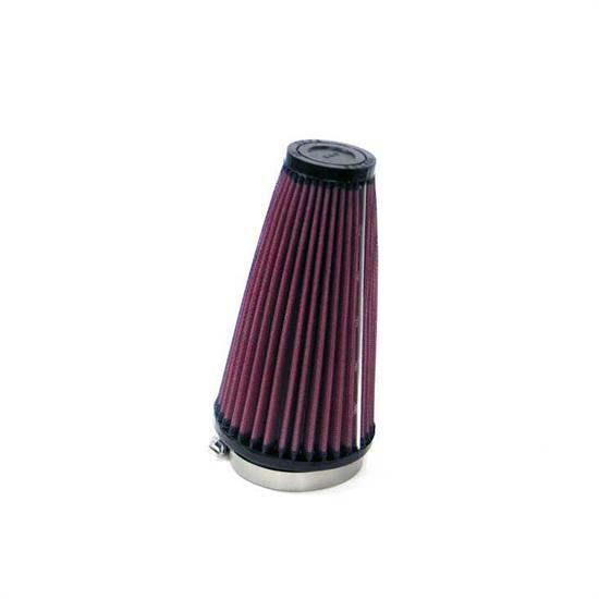 K&N RU-3590 Performance Air Filters, 7in Tall, Round Tapered