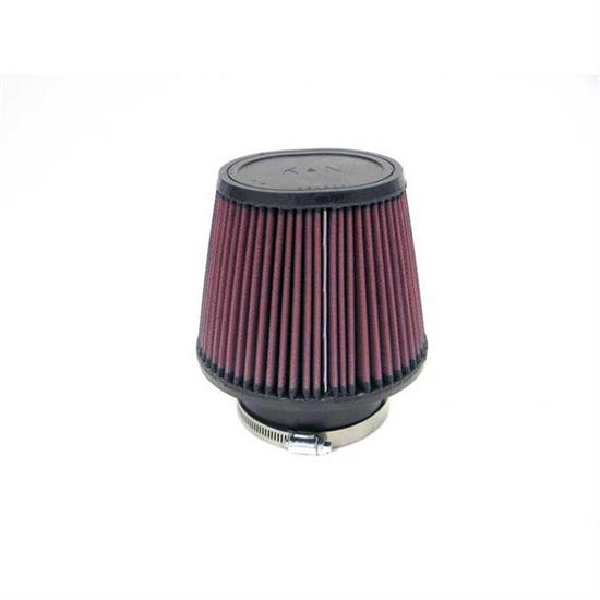 K&N RU-4190 Performance Air Filters, 5in Tall, Oval Straight