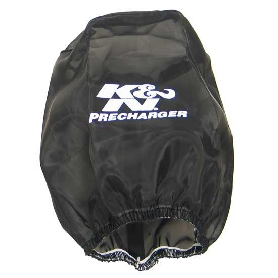 K&N RU-4710PK PreCharger Air Filter Wrap, 6.75in Tall, Black