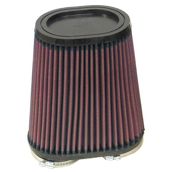 K&N RU-4710 Performance Air Filters, 6.75in Tall, Oval Straight