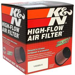K&N RU-4950 Performance Air Filters, 5.5in Tall, Round Tapered