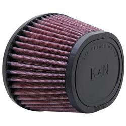 K&N RU-5004 Performance Air Filters, 3.5in Tall, Round Tapered
