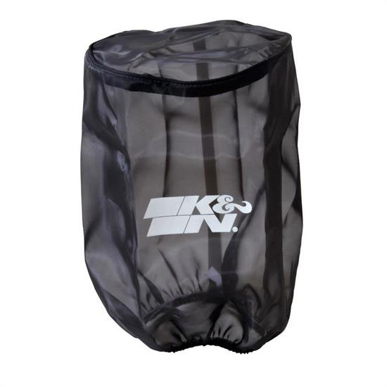 K&N RU-5045DK DryCharger Air Filter Wrap, 9.5in Tall, Black