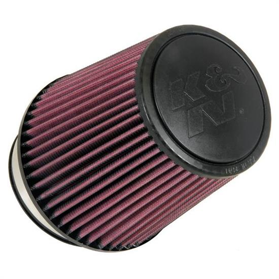 K&N RU-5061 Performance Air Filters, 6.5in Tall, Round Tapered