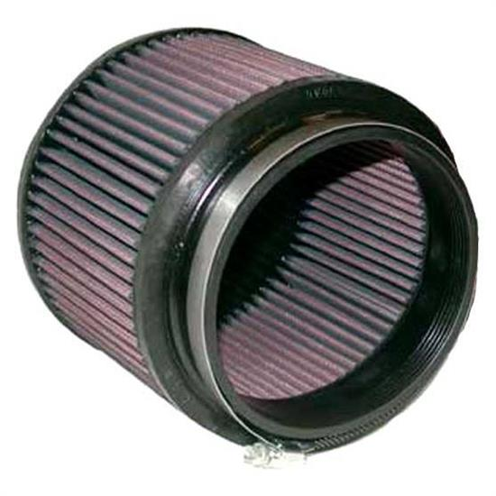 K&N RU-5109 Performance Air Filters, 5in Tall, Round Tapered