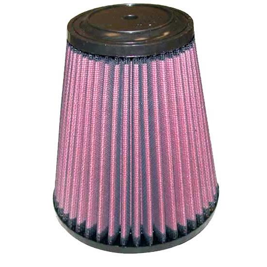 K&N RU-5121 Performance Air Filters, 6in Tall, Round Tapered
