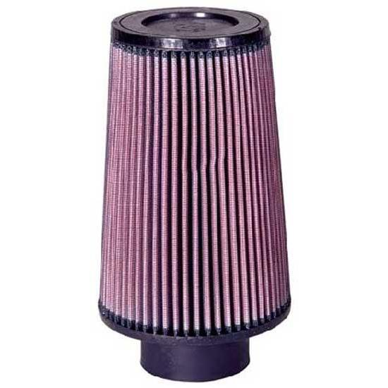 K&N RU-5122 Performance Air Filters, 8in Tall, Round Tapered