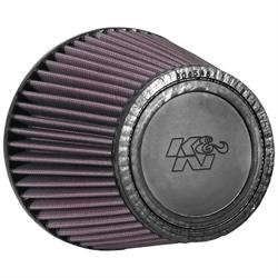 K&N RU-5147 Performance Air Filters, 5.5in Tall, Round Tapered