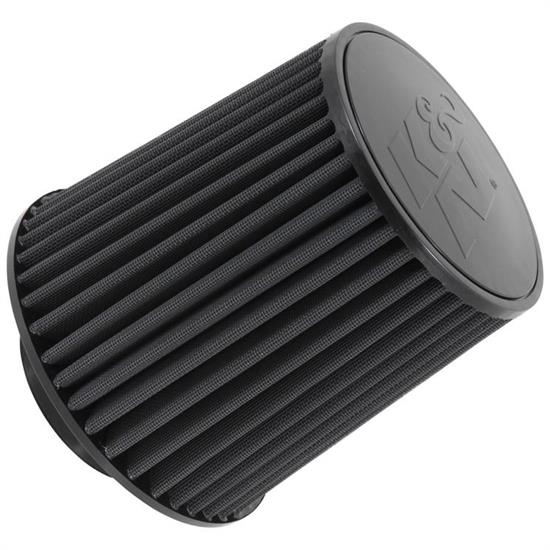 K&N RU-5171HBK Performance Air Filters, 8in Tall, Round Tapered