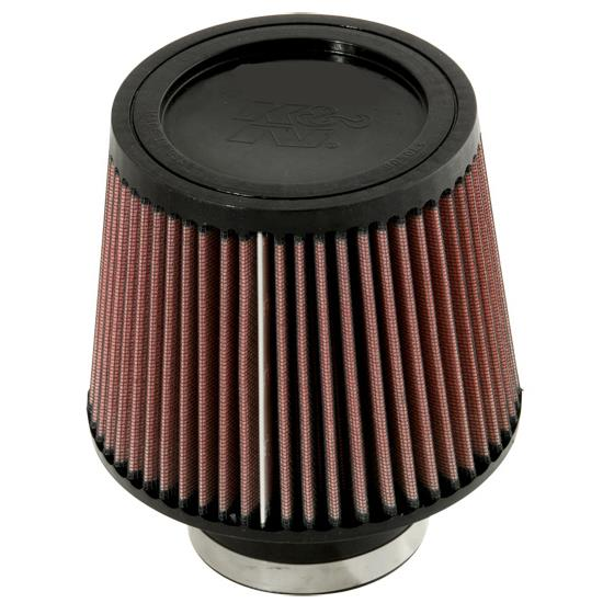 K&N RU-5176 Performance Air Filters, 5in Tall, Round Tapered