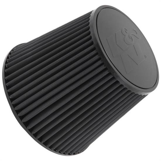 K&N RU-5177HBK Performance Air Filters, 7.5in Tall, Round Tapered