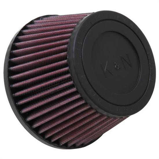 K&N RU-9160 Powersports Air Filter, 3.438in Tall, Round Tapered