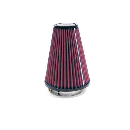 K&N RU-9220 Performance Air Filters, 5.906in Tall, Round Tapered