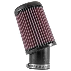 K&N RX-3800 X-Stream Clamp-On Air Filter, 6.563in Tall, Round Tapered