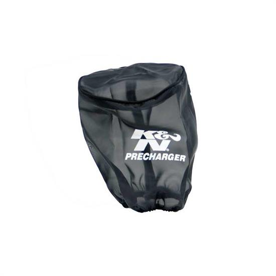 K&N RX-3820PK PreCharger Air Filter Wrap, 6.125in Tall, Black