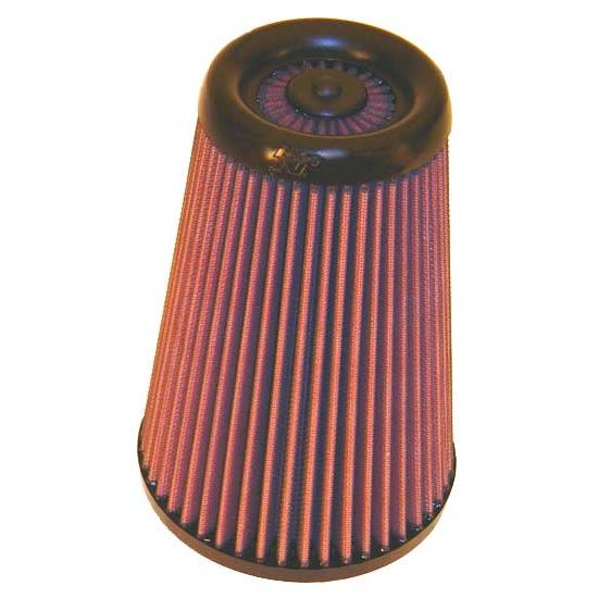 K&N RX-3990-1 X-Stream Clamp-On Air Filter, 8.688 Tall, Round Tapered