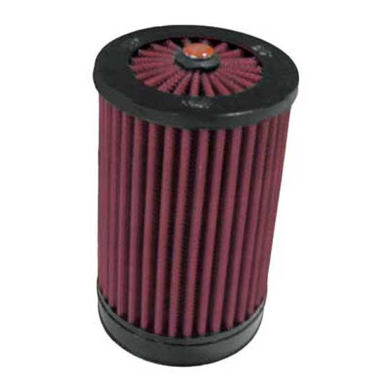 K&N RX-4140 X-Stream Clamp-On Air Filter, 5.969in Tall, Round