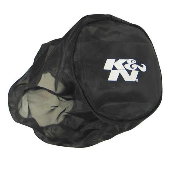 K&N RX-4730DK DryCharger Air Filter Wrap, 6.5in Tall, Black
