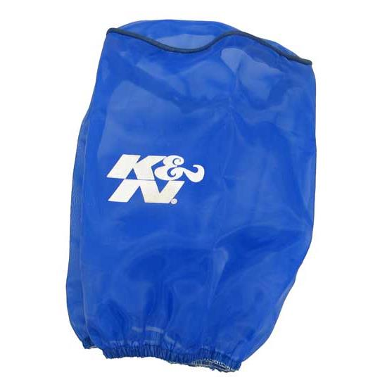 K&N RX-4730DL DryCharger Air Filter Wrap, 6.5in Tall, Blue