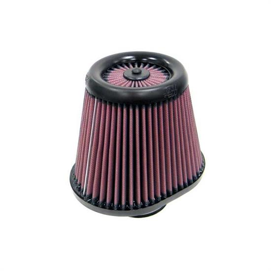 K&N RX-4750 X-Stream Clamp-On Air Filter, 6.5in Tall, Oval Straight